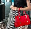 Женская сумка классическая с ручками Sue Красный, фото 2