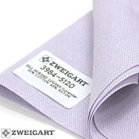 Ткань равномерного переплетения Zweigart Murano Lugana 32 ct. 3984/5120 Lavender (Лавандовый)