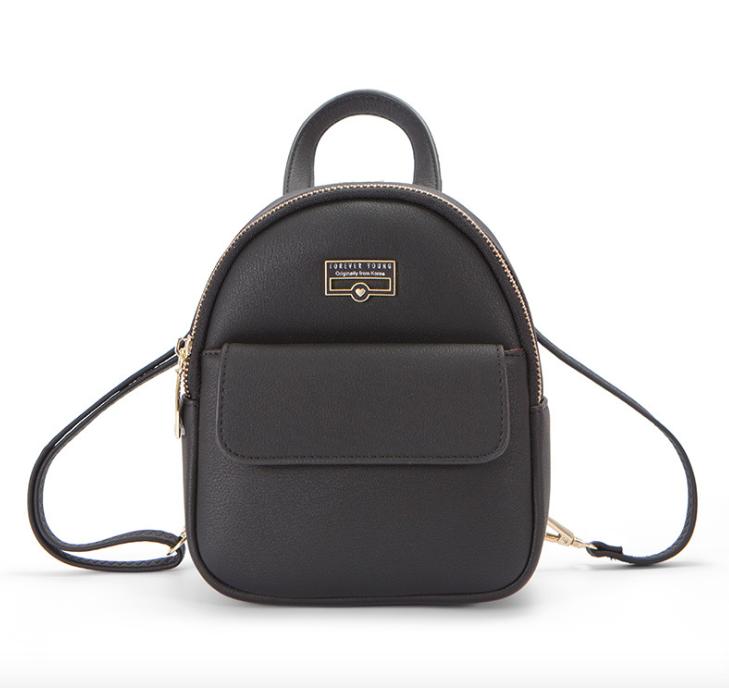 Рюкзак женский мини сумка Forever Young Classic Черный