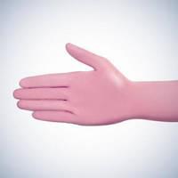 Перчатки розовые без пудры AMPri Style Latex Pink 6.2г, 100 шт/уп., фото 1