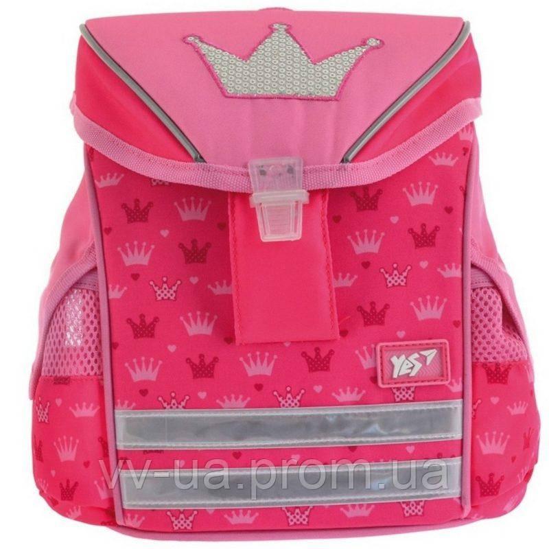 Рюкзак детский каркасный Yes К-27 Princess (556527)