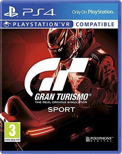 Игра для игровой консоли PlayStation 4, Gran Turismo Sport (БУ)