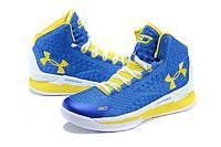 Баскетбольные кроссовки Under Armour Curry синие