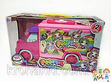 Игровой набор Автобус Пупси Poopsie Единорог со слаймом -  Кукла пупс единорог  - аналог, фото 2