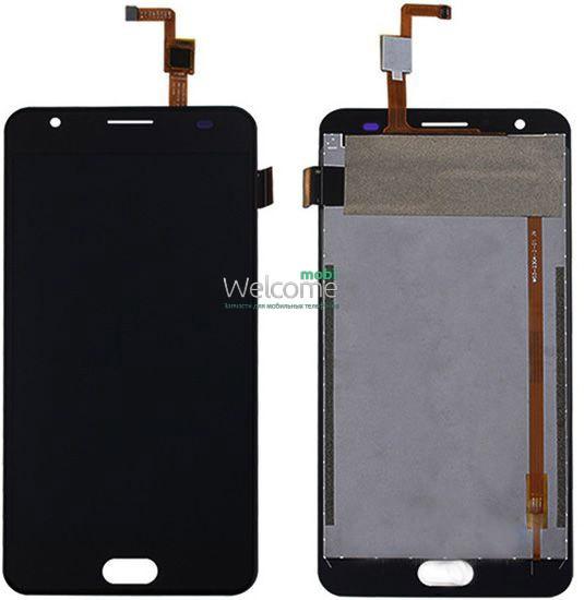 Модуль Oukitel K6000 Plus black дисплей экран, сенсор тач скрин оукител к6000 плюс +