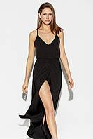 (M / 44-46) Жіноче легке чорне плаття-максі Monreal