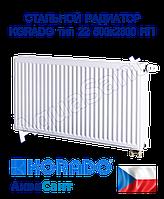 Стальной радиатор Korado 22vk 500x2300 нижнее подключение