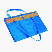 Пляжный коврик фольга с соломкой 90х170, коврик для пляжа!Опт