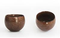 Чабэй (чайная чашка) керамический, золотисто-коричневый, 120 мл