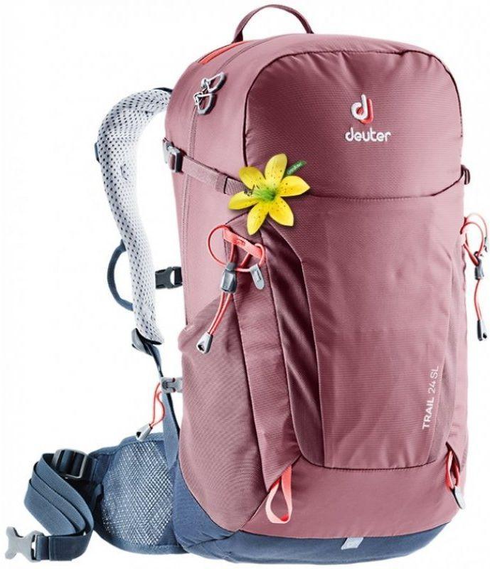 Купить Рюкзак спортивный Deuter Trail 24 SL 3440219 5322, 24л, бордовый