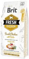 170990/0748 Brit Fresh Adult Dog Chicken & Potato, 2,5 кг