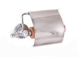 Держатель для туалетной бумаги с крышкой Cameya, хром