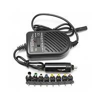 Универсальное зарядное устройство для ноутбука от 12V UKC EWDD8040 80W + 8 переходников (46212/1)