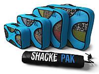 Дорожный органайзер для путешествий Shacke Pack 5 шт Голубой с черным (SP005)