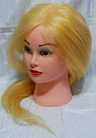 Голова учебная (иск. термо. волосы), YRE-4-519G