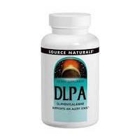 DL-Фенилаланин (D, L-Phenylalanine) Source Naturals 375 мг 120 таблеток