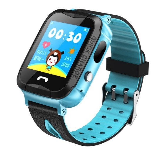 Детские Умные часы с GPS V6G голубые