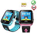 Детские Умные часы с GPS V6G голубые, фото 5