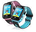 Детские Умные часы с GPS V6G голубые, фото 6