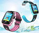 Детские Умные часы с GPS V6G розовые, фото 4