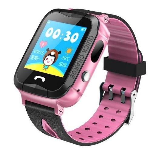 Детские Умные часы с GPS V6G розовые