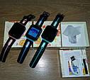 Детские Умные часы с GPS V6G зеленые, фото 7
