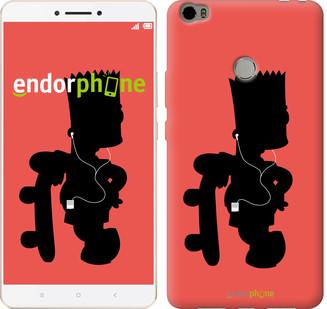 """Чехол на Xiaomi Mi Max Барт на красном фоне """"653c-275-571"""""""