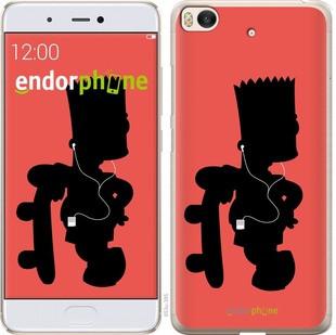 """Чехол на Xiaomi Mi 5s Барт на красном фоне """"653c-395-571"""""""