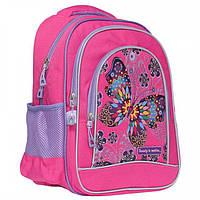 Рюкзак CLASS Butterfly бабочки розовый Flower 38*28*18см 300D PL