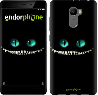 "Чехол на Xiaomi Redmi 4 Чеширский кот ""689c-417-571"""