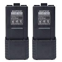Усиленные аккумуляторы для радиостанций Baofeng UV-5R, UV-5RTP, UV-5HP, BF-F8+  на 3800 mAh комплект 2 штуки, фото 1