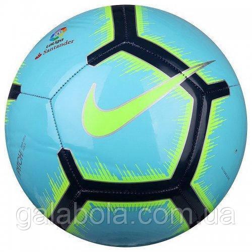 Мяч футбольный NIKE PITCH LA LIGA SC3318-483 (размер 4)