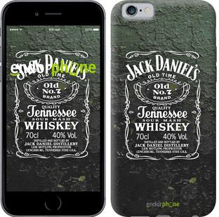"""Чехол на iPhone 6s Whiskey Jack Daniels """"822c-90-571"""""""