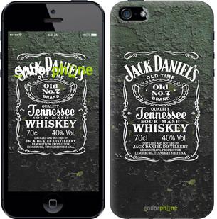"""Чехол на iPhone 5s Whiskey Jack Daniels """"822c-21-571"""""""