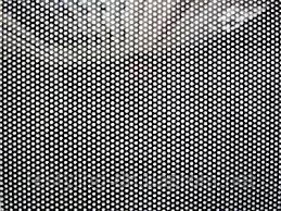 Перфорированная пленка One Way Vision черная, 1,06м