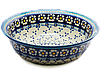 Миска с бортиком / салатник керамический 25 Chamomile Paradise - Blue