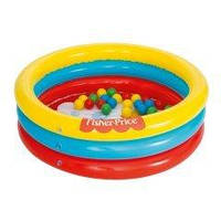 Детский надувной бассейн Bestway 93501 «Лисенок», 91 х 25 см, с шариками 25 шт.
