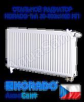 Стальной радиатор Korado 33vk 600x1100 нижнее подключение