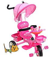 Детский трехколесный велосипед BAMBI B29-1B-1, розовый