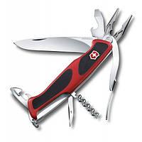 Швейцарский нож Victorinox RangerGrip 74 Красный с черным (0.9723.C)