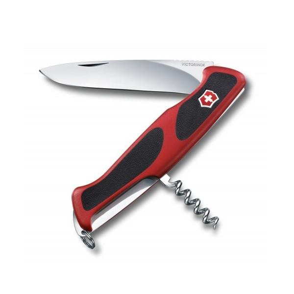 Швейцарский нож Victorinox RangerGrip 52 Красный с черным (0.9523.C)