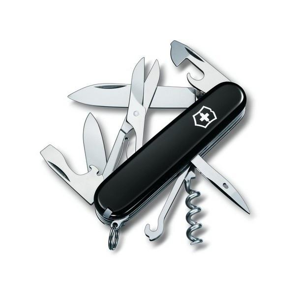 Швейцарский нож Victorinox Climber Черный (1.3703.3)