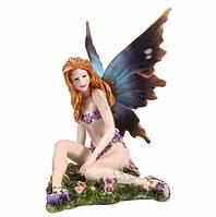 Статуэтка Veronese Юная фея на цветочном поле (73295)