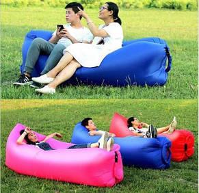Надувной матрас Ламзак AIR SOFA CLOUD,  фиолетовый, салатовый, синий, розовый, фото 2