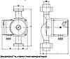 Циркуляційний насос для опалення IMP PUMPS GHN 32/85-180, фото 4