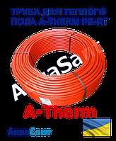 Труба для теплої підлоги A-therm PE-RT 16x2.0мм, фото 1