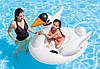 Плотик Детский Надувной Лебедь 57557 Intex Размер 130х102х99 см, фото 3