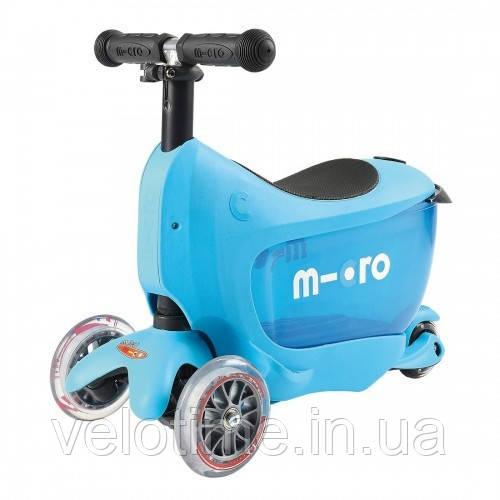 Самокат Mini Micro 2go  Deluxe  (Blue )
