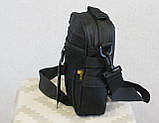 Тактическая универсальная сумка на плечо Silver Knight с системой M.O.L.L.E (102-black), фото 2
