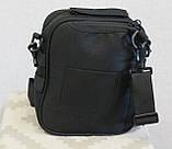 Тактическая универсальная сумка на плечо Silver Knight с системой M.O.L.L.E (102-black), фото 4